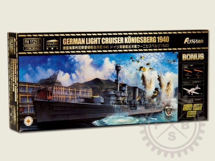 Flyhawk German Light Cruiser Königsberg 1940 - deluxe / 1:700