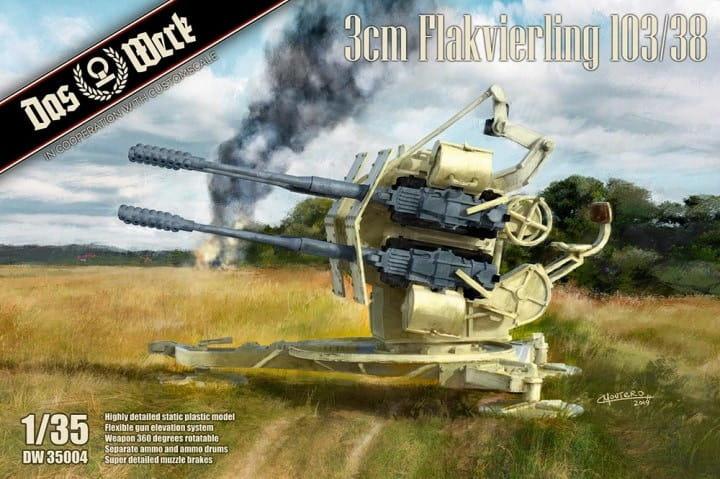 Das Werk 3cm Flakvierling 103/38 / 1:35