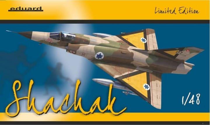 Eduard Models Shachak - Mirage III CJ - Limited Edition - / 1:48