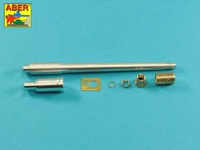 170mm A/T gun barrel for German Jagdpanzer E-100 (Trumpeter) / 1:35