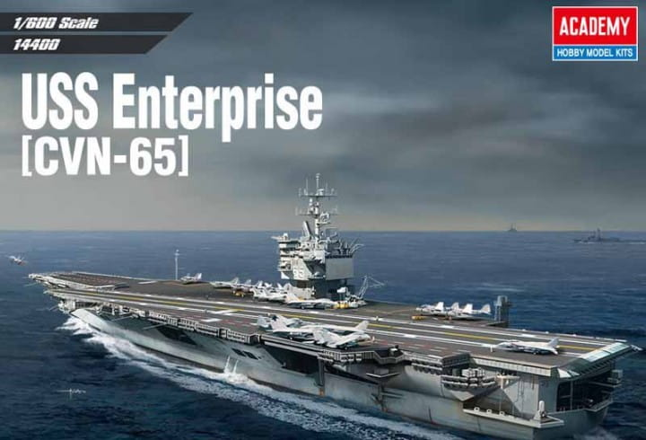 USS ENTERPRISE CVN-65 / 1:600