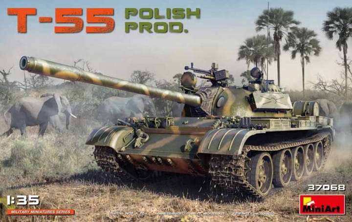 T-55 Polish Prod. / 1:35