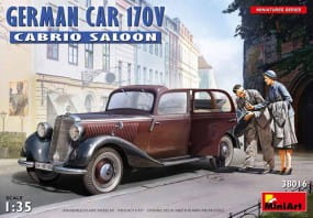 German Car 170V Cabrio Saloon / 1:35