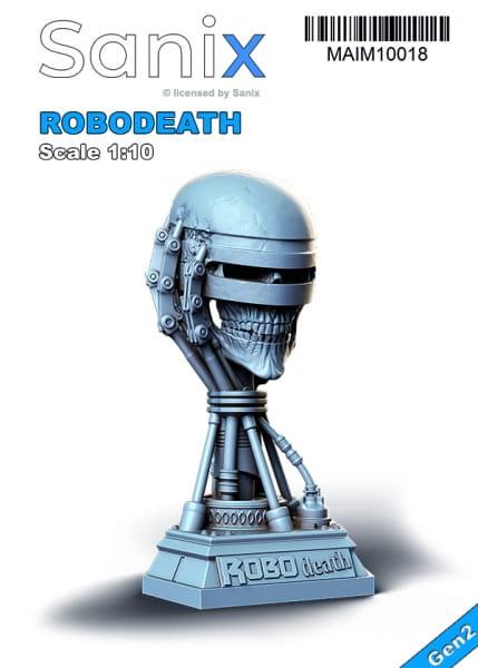 Robodeath -Bust / Statue- / 1:10