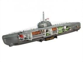 U-Boot Typ XXI U 2540 & Interieur / 1:144