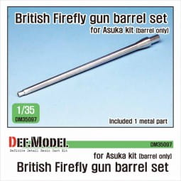 British Sherman Firefly metal barrel (for Asuka) / 1:35