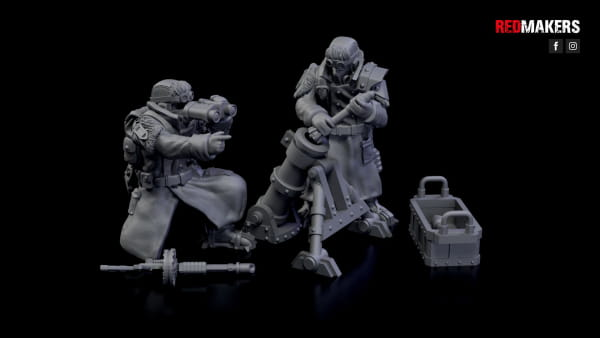 Mortar - Ice Warriors - Heavy Support Squad of the Imperial Forces