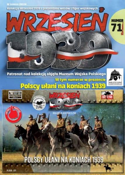 Wrzesien 1939: Polish Uhlans on horseback 1939 / 1:72