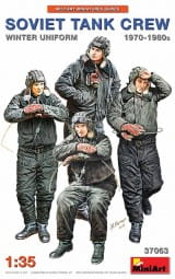 Soviet Tank Crew 1970-1980s. - Winter Uniform / 1:35