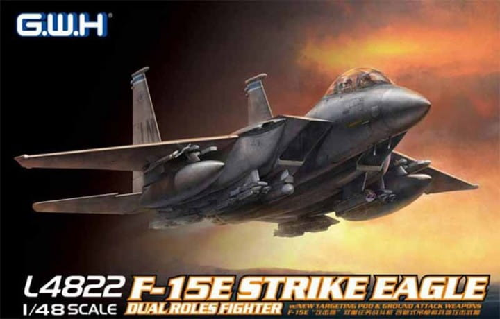 Lionroar F-15E Strike Eagle / 1:48