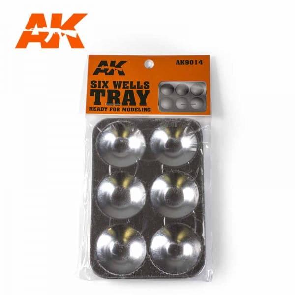AK Interactive Six Wells Tray