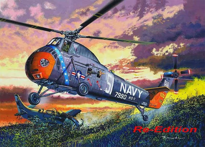 H-34 US NAVY RESCUE - Re-Edition / 1:48