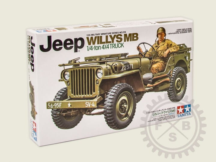 Tamiya U.S. Willys Jeep 1/4ton / 1:35