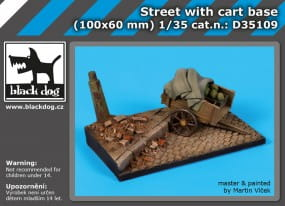 Street with cart base / 1:35