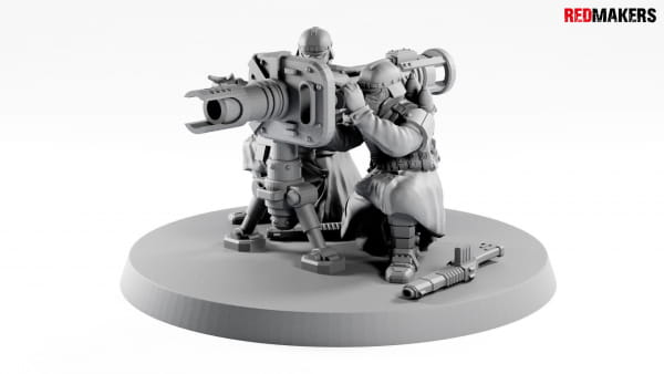Rocket Launcher - Death squad of Imperial force Heavy support
