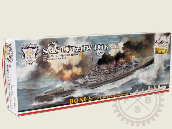 SMS Lützow 1916 + Bonus (waterline Version) / 1:700