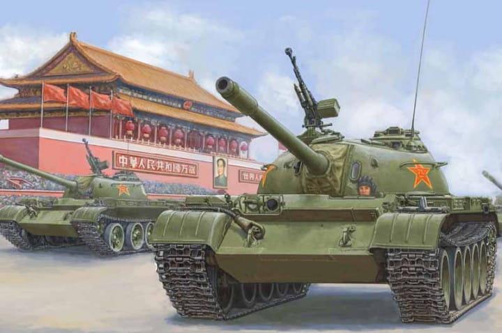 PLA 59 Medium Tank-early / 1:35