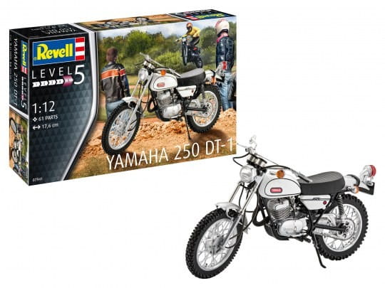 Revell Yamaha 250 DT-1 / 1:12
