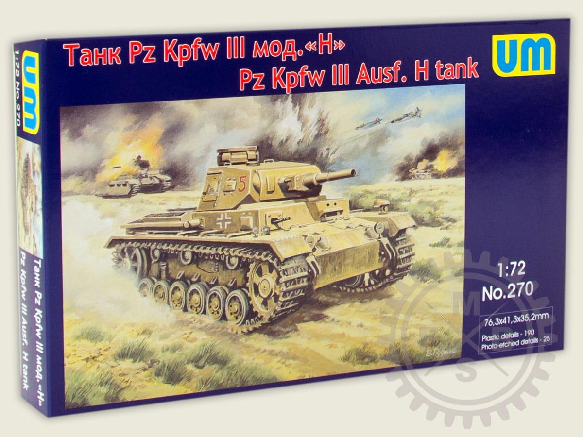 Pz.Kpfw Sd.Kfz. 141 III Ausf 1:72 WW2 Militärfahrzeug Panzer-3 M