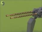 Browning M2 aircraft .50 caliber (12.7mm) Geschützrohr / 1:35