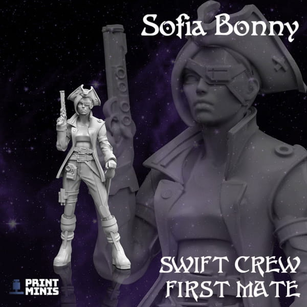 Sofia Bonny - First Mate - Space Pirates Collection