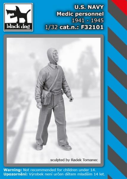 US NAVY medic personel 1941-45 / 1:32