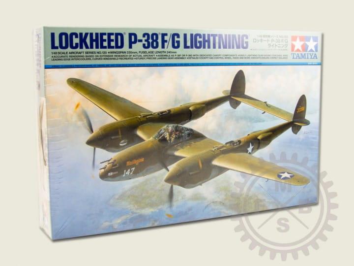 Tamiya Lockheed P-38 F/G Lightning / 1:48