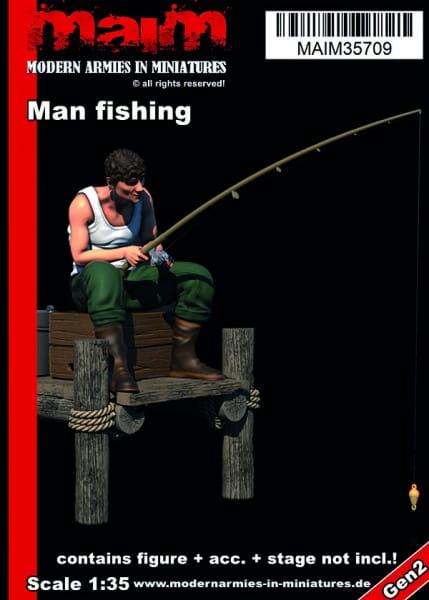 MAiM / Front46 Man fishing / 1:35