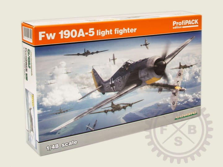 Eduard Models Fw 190A-5 light fighter - Profipack - / 1:48