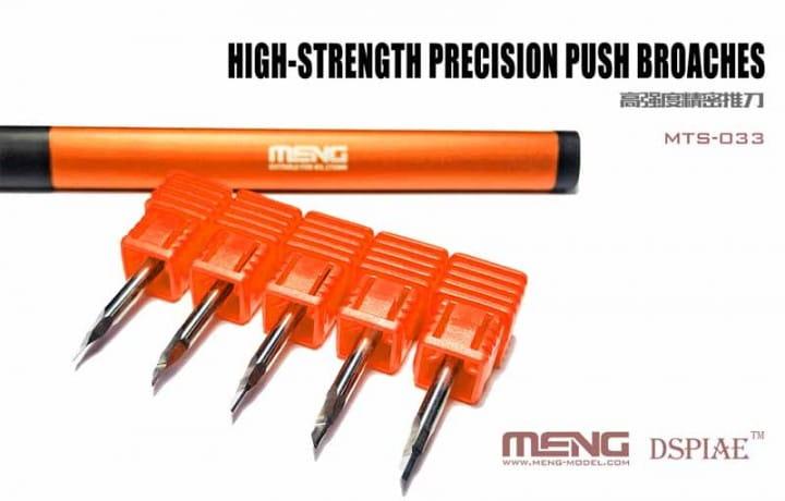 Meng Models High-strength Precision Push Broaches