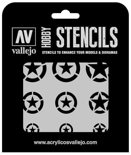 Vallejo Hobby Stencils: USAF Markings Markings - 1:32 / 1:48 / 1:72