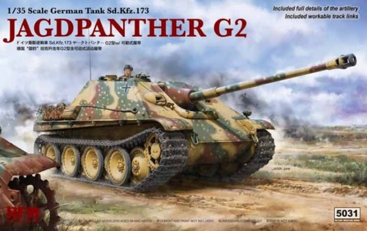 Jagdpanther G2 (Sd.Kfz.173) / 1:35