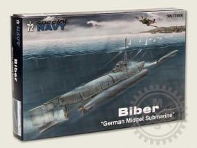 "Biber ""German Midget Submarine"" / 1:72"