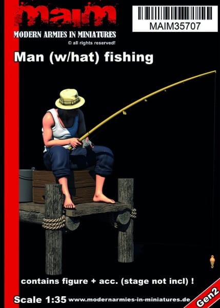MAiM / Front46 Man (with hat) fishing / 1:35
