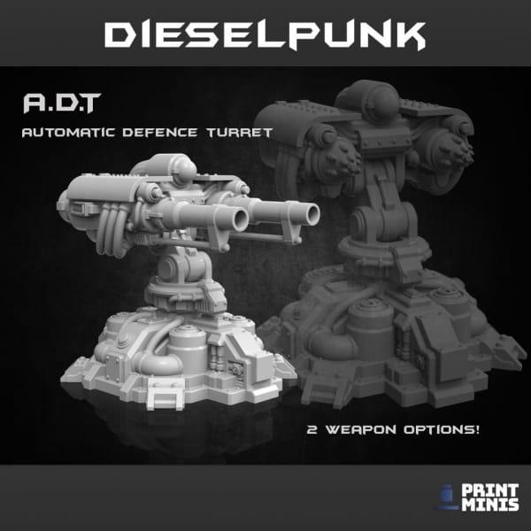 Auto Defence Turret
