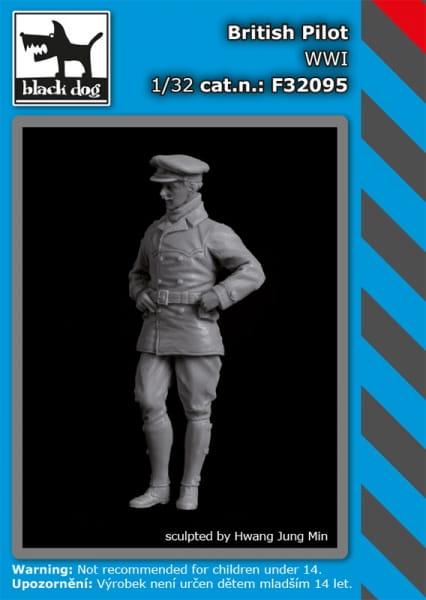 British pilot WW I / 1:32