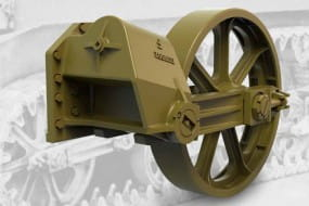 US light tank M3 Idler set (early type) / 1:35