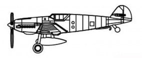BF 109T ( 6 Stück ) / 1:350