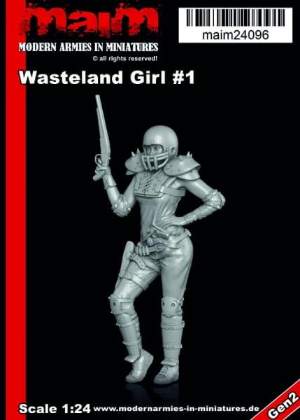 Wasteland Girl #1 / 1:24