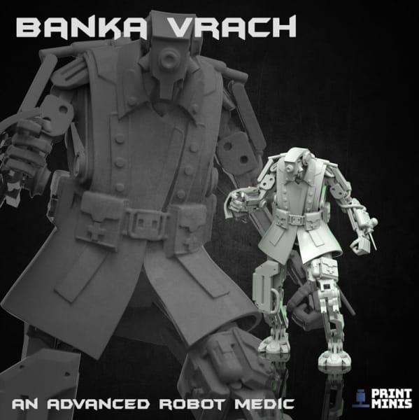 Banka Vrach - Robot Medic