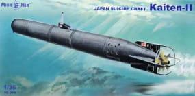 Kaiten-II Japan kamikaze torpedo / 1:35