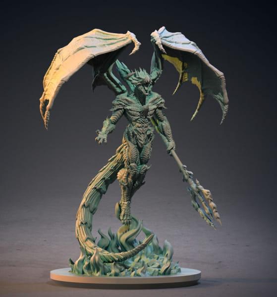 Draconic Hellborn