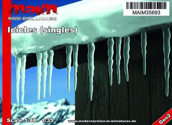 Iccicles - singles / Uniscale 1:48 - 1:35