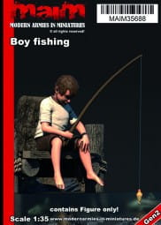Boy fishing / 1:35