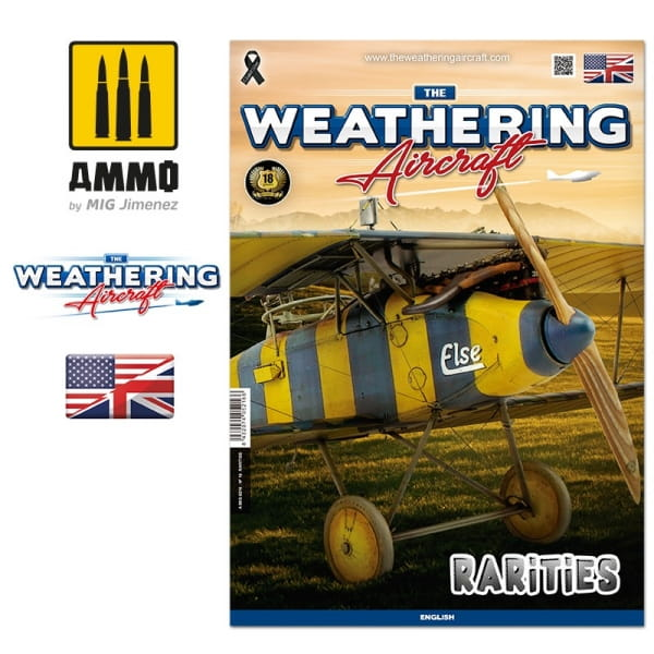 The Weathering Aircraft Issue 16 RARITIES (English)