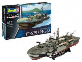 Patrol Torpedo Boat PT-588/PT-57 / 1:72