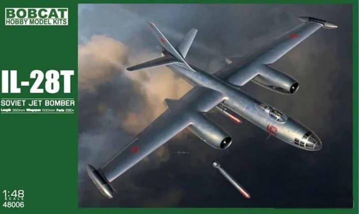 Il-28T Beagle - Torpedo Bomber / 1:48