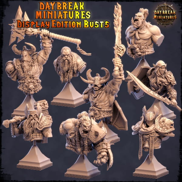 Orc´s - Bust Collector Pack