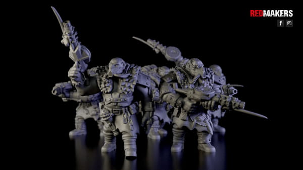 Squad of Abhuman Giants