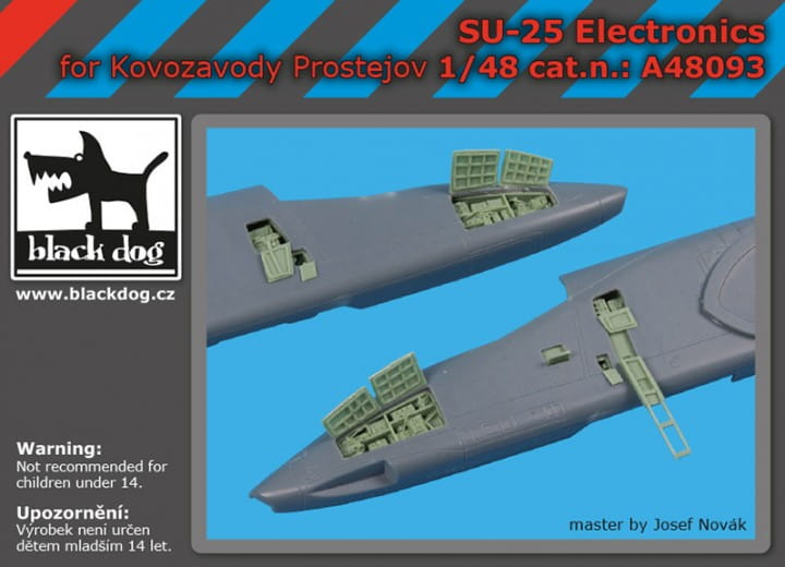 SU -25 electronics - KP - / 1:48